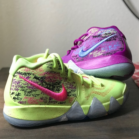 """newest collection 97b59 49856 KYRIE 4 """"CONFETTI"""" (GS)"""